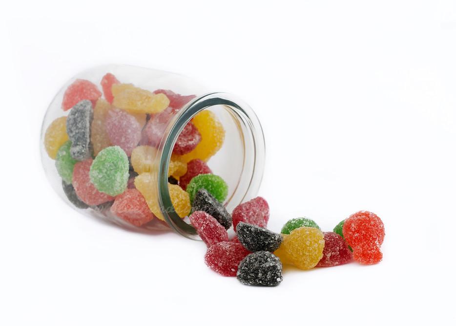 food sweets gum drops
