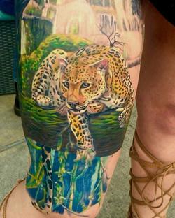 Shawn can't wait to finish this piece! #inkedmag #girlswithtattoos #tattooedmodel #tattoomodel #tatt