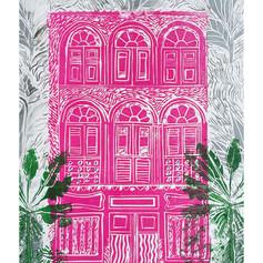 Shophouse block print 2