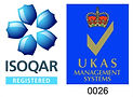 iso 9001 ISOQAR labels