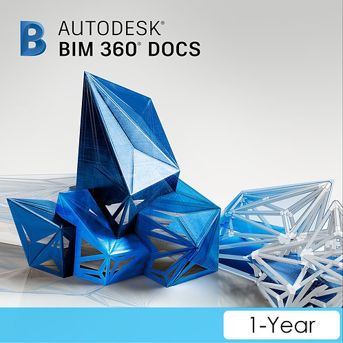 BIM 360 Docs Single User CLOUD Commercial New Annual Subscription