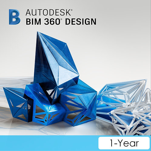 BIM 360 Design Single User CLOUD Commercial New Annual Subscription