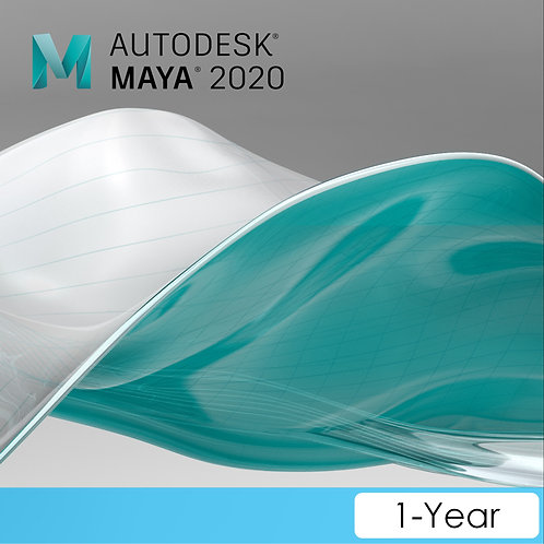 Maya 2020 Commercial New Single-user ELD Annual Subscription