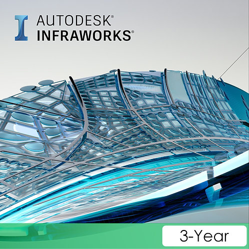 InfraWorks 2021 Commercial New Single-user ELD 3-Year Subscription