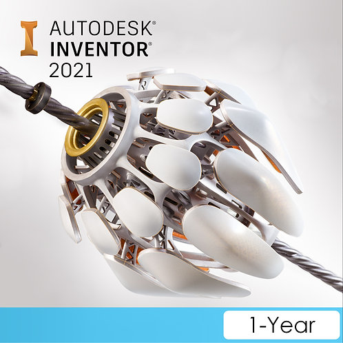 Inventor Professional 2021 Commercial New Single-user ELD Annual Subscription