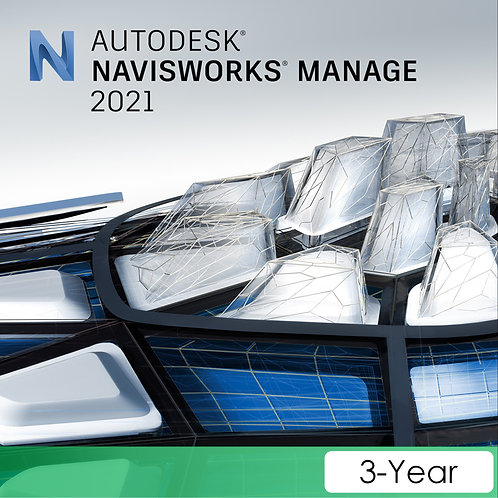 Navisworks Manage 2021 Commercial New Single-user ELD 3-Year Subscription