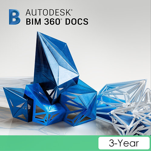 BIM 360 Docs Single User CLOUD Commercial New 3-Year Subscription