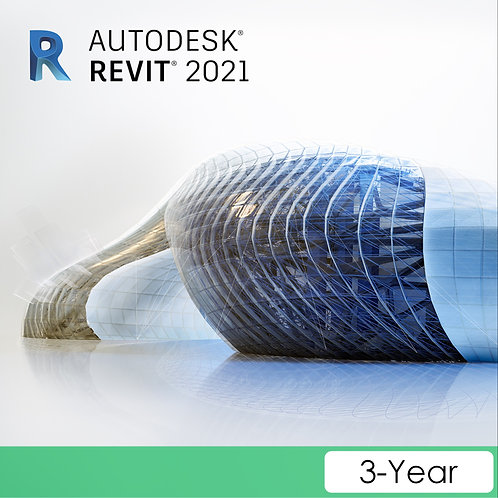 Revit 2021 Commercial New Single-user ELD 3-Year Subscription