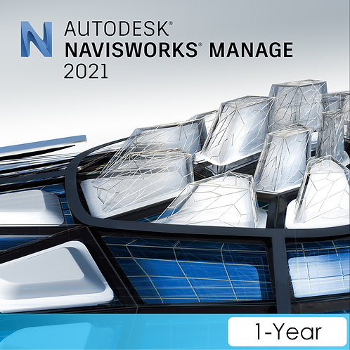 Navisworks Manage 2021 Commercial New Single-user ELD Annual Subscription