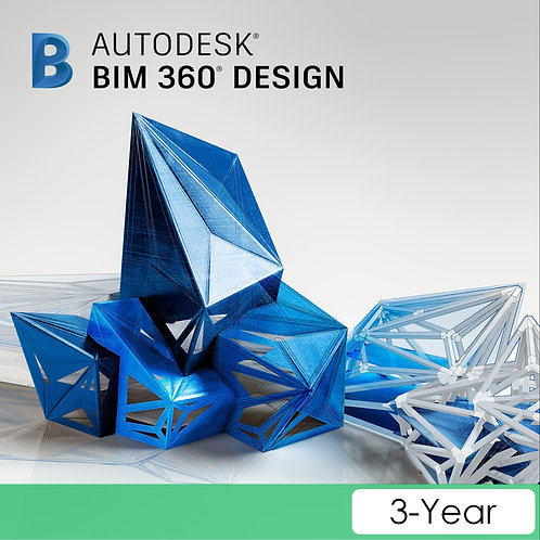 BIM 360 Design Single User CLOUD Commercial New 3-Year Subscription
