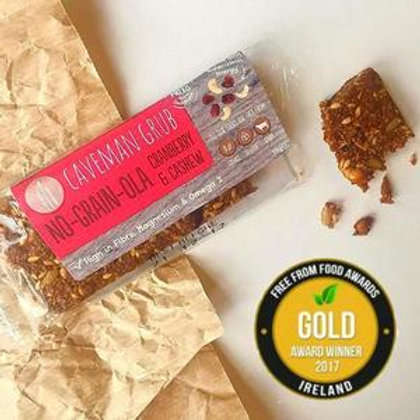 Cranberry & Cashew No-Grain-ola Bar