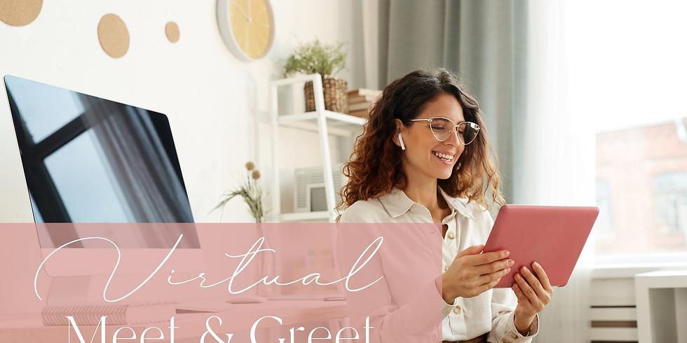 Virtual Member Meet & Greet