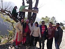 Entrance at Nainital Camps (Pangot)