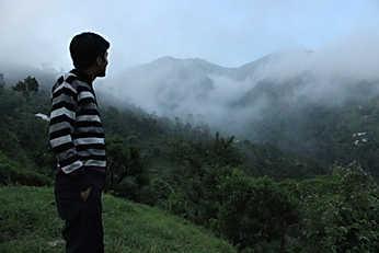 View from Nainital Camp (Pangot)