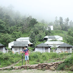 Camping site in Nainital