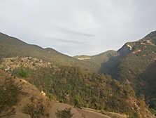 View from Camp Nainital (Pangot)