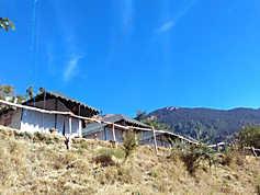 View from Camp in Nainital (Pangot)