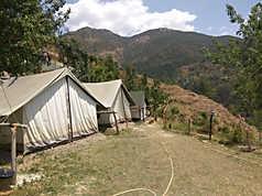 View from Nainital Camping (Pangot)