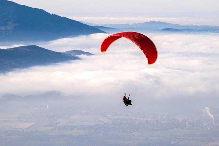 Paragliding Nainital Camp Mukteshwar