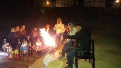 Bonfire and Music at Pangot Camp