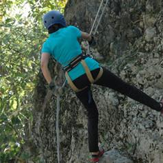 Rappelling Nainital camps