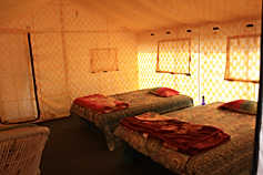 Comfortable Tents with Attach Washroom
