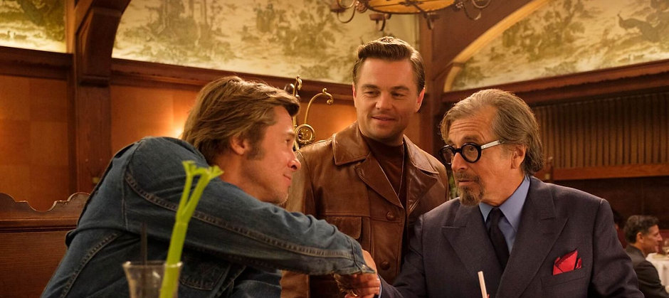 Once Upon a Time in Hollywood Musso & Fr