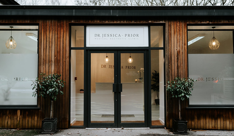 Dr Jessica Prior Medical Aesthetic Clinic in Nailsworth, Gloucestershire.