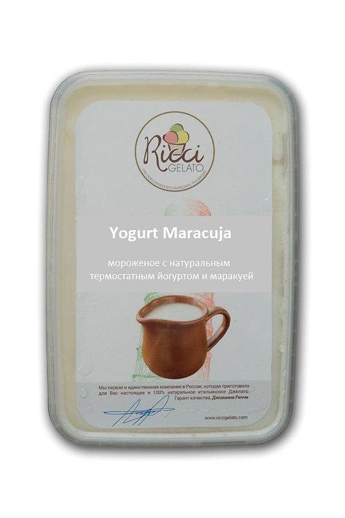 Yogurt Maracuja (с натуральным термостатным йогуртом и маракуей, 750 грамм)