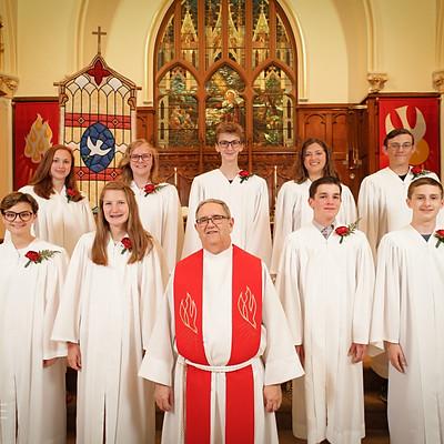 St John's 2019 Confirmation Class