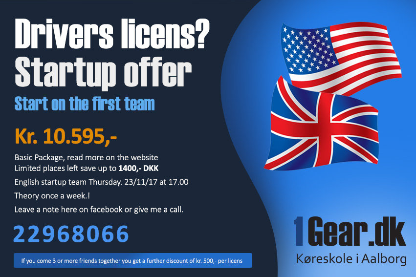 Drivers License startup offer