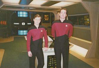 "Extra on ""Star Trek: The Next Generation"""