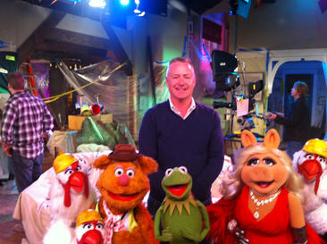 with Muppets