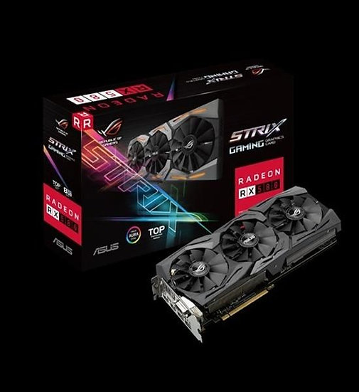 ASUS ROG-STRIX-RX580-T8G-GAMING GRAPHIC CARD
