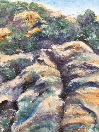 Cliffs at Tepoztlan