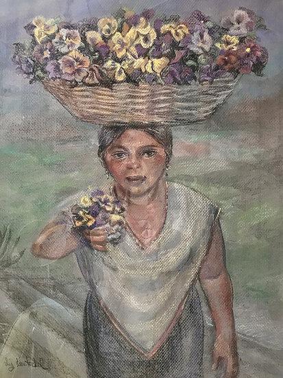 Vendor of Pansies (Vendedora de Pensamientos)
