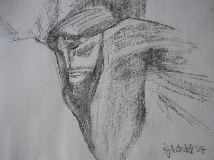 Cristo en una Grieta (Christ in a Gorge).