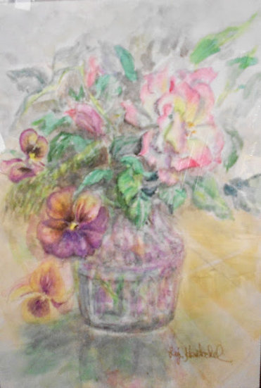 Pansies and Roses
