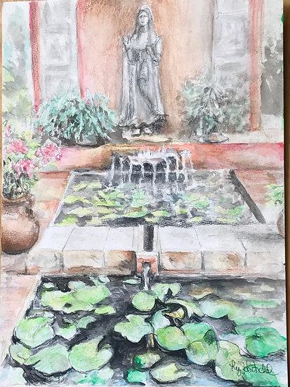 La Fuente de la Santa (The Fountain of St. Theresa)