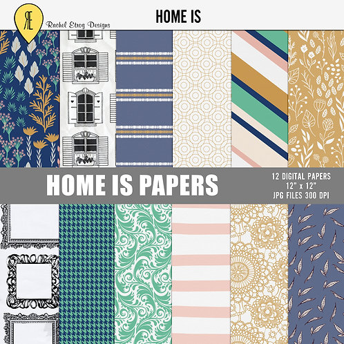 Home Is - Papers