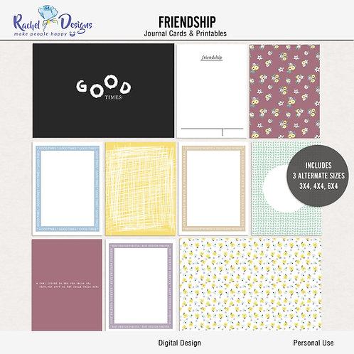 Friendship - Journal cards