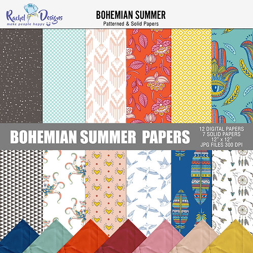 Bohemian Summer - Papers