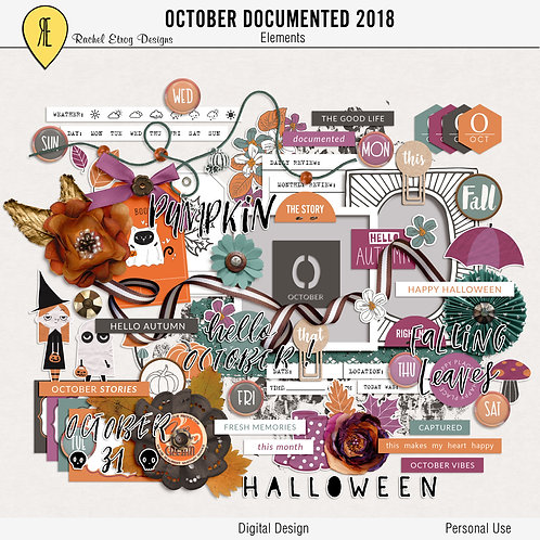 October Documented 2018 - Elements