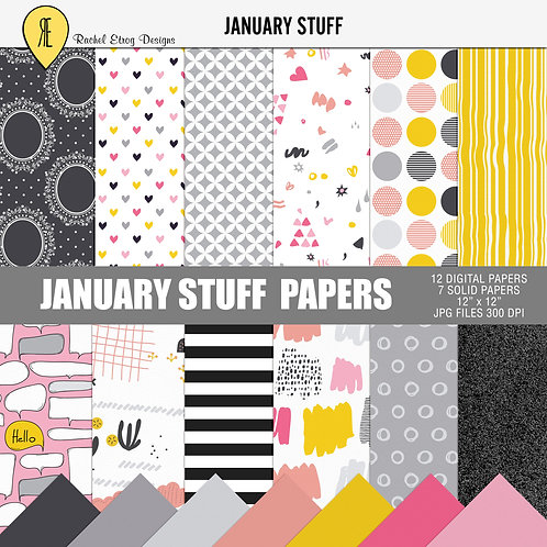 January Stuff - Papers