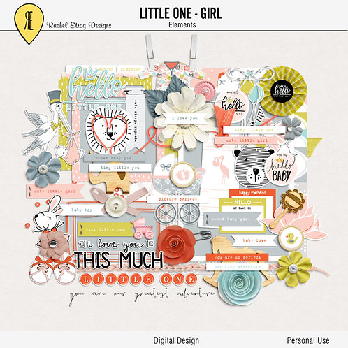 Little One Girl - Elements