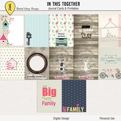 In This Together Journal Cards
