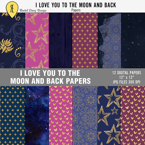 I love you to the moon and back - Papers