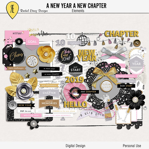 A New Year A New Chapter - Elements