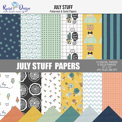 July Stuff - Papers
