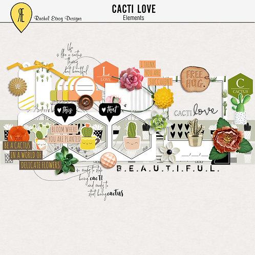 Cacti Love - Elements